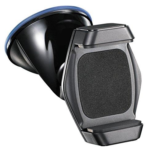 xcessory universale Auto-Halterung Handy-Halterung für die Windschutzscheibe in schwarz, KFZ, für Apple iPhone 5 5s 6 6s,  Smartphone  Samsung S3 S4 S5 (Die Für Handy-halterung Windschutzscheibe)