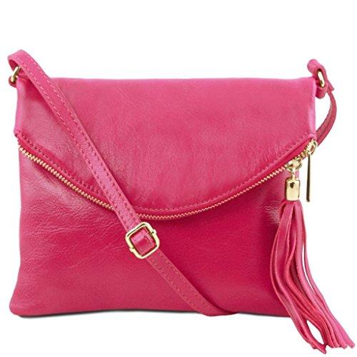 Tuscany Leather - TL Young Bag - Borsa a tracolla con nappa - TL141153 (Magenta) Magenta