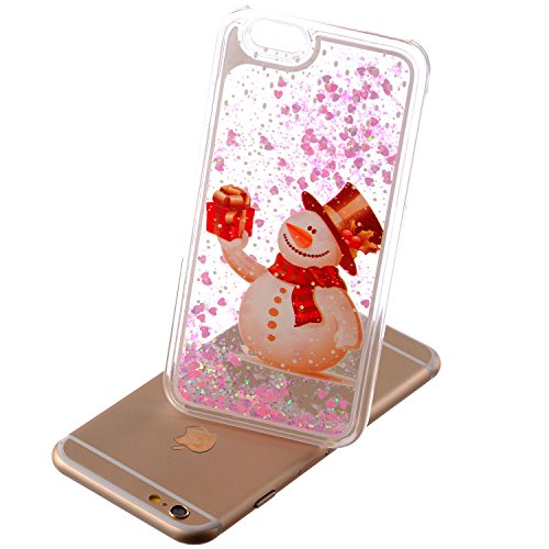 "MOONCASE pour iPhone 6 (4.7"") Case Glitter Quicksand Dynamic Hard Housse Coque Etui Shell Case Cover LS08 LS03 #0111"