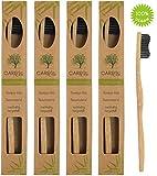4er-Pack Holzzahnbürste aus nachhaltigem
