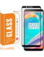 OpenTech® Edge to Edge Tempered Glass Screen Protector for OnePlus 5T with Installation kit