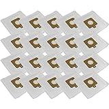 20 Staubsaugerbeutel aus Microvlies + 4 Motorschutzfilter passend für AEG Smart 3341