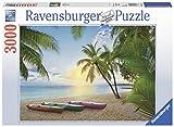 Ravensburger Puzzle, diseño de paraíso tropical, 3000 piezas (17071)