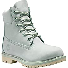 Timberland 6in Premium Boot - W SILT GREEN, WOMAN, Size: 35.5 EU (5 US / 3 UK)