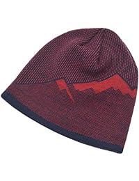 Feiboy Acolchado Plegable Gorra Cálido Suave Crochet de Hats Casual Invierno  Hombres Gorros De Punto Lavable Al… 87369221419
