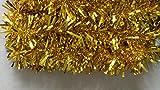 Girlande Ranke gold-farben Länge 480 cm Haus-Raum-Tür-Deko Deco Metallich vom Sachsen Versand