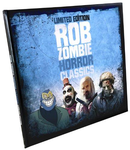 Rob Zombie Horror Classics (Stylische Schallplattenbox mit 4 Kult-Horror-Hits auf Blu-ray, streng limitiert und nummeriert)