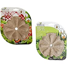 Pack of 2 Pizza and Mixed Herbs Grow Your Own Seed Pods