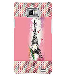 PrintDhaba Tower D-4152 Back Case Cover for SAMSUNG GALAXY S2 (Multi-Coloured)
