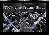 NYC - eine Traum-Stadt (Wandkalender 2018 DIN A3 quer): Eine Bilderserie über New-York-City, in welcher Schwarz-Weiss-Aufnahmen mit ... ... Orte) [Kalender] [Apr 01, 2017] Lind, Jens