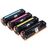 4x Toner für HP CE410A 305A CE411A CE412A CE413A - kompatibel zu HP LaserJet Pro M351 M475 M451 M375nw