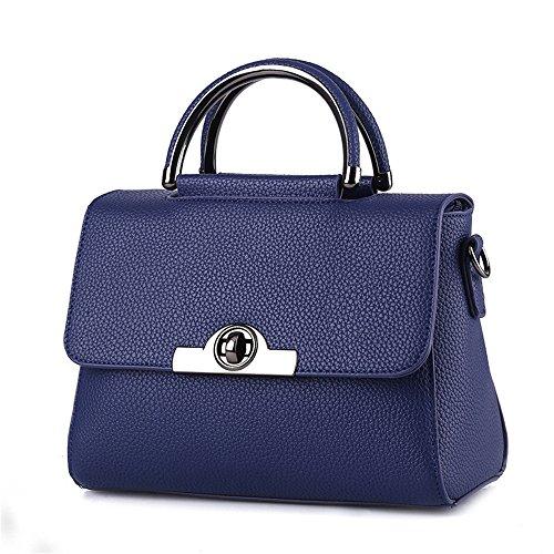 Sotica, Borsa a tracolla donna L Royal Blue