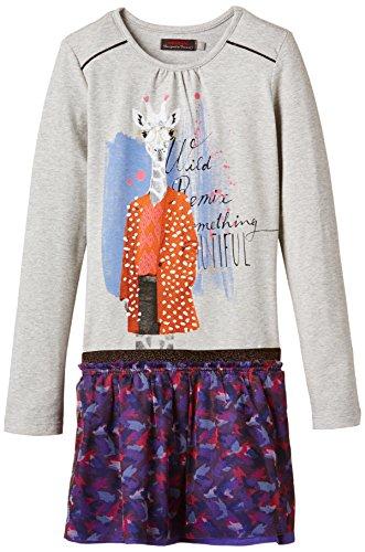 Catimini - SPIRIT ETHNIQUE, Vestito per bambine e ragazze, grigio (grau  (gris chin)), 6 anni (116 cm)