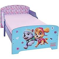 Preisvergleich für Unbekannt Fun House Pat Patrouille Mädchen Kinderbett 140x 70cm mit Latte, MDF, 144x 77x 59cm