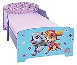 Unbekannt Fun House Pat Patrouille Mädchen Kinderbett 140x 70cm mit Latte, MDF, 144x 77x 59cm