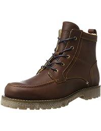 Marc O'Polo Herren Lace Flatheel Bootie 70920036301109 Combat Boots