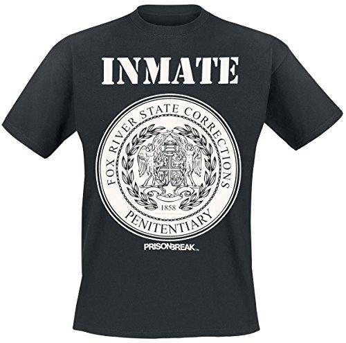 Prison Break Fox River Inmate T-Shirt nero S