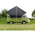 DEBUS Campervan Sun Canopy Awning - Anthracite Grey 13