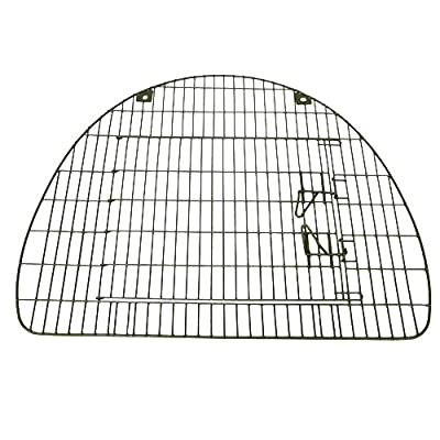 PetzPodz LARGE secure plastic coated FRONT GRILL door crate cage