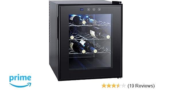 Kleiner Weinkühlschrank : Syntrox germany 16 flaschen digitaler getränkekühlschrank