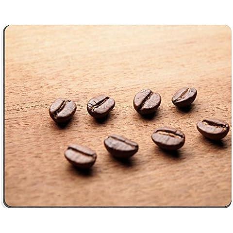 MSD-Tappetino per mouse in gomma naturale, gioco foto ID: 29368402 caffè, chicchi di grano su sfondo: corteccia