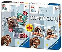 Puzzle 25 pièces - 3 Puzzles The Secret Life of Pets + Memory