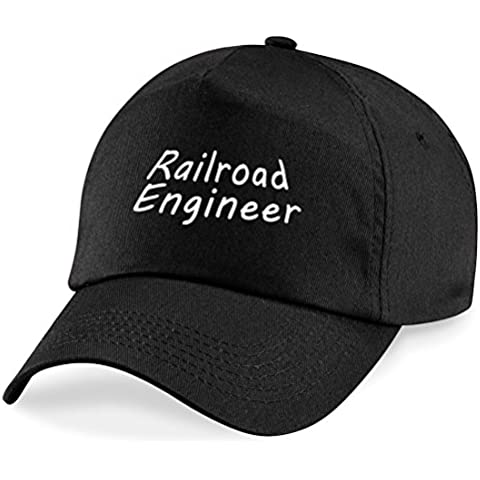 Railroad Gorra de béisbol Railroad ingeniero de regalo Worker gorro de