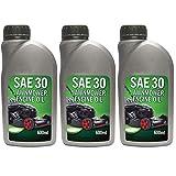 spares2go 0,6l 4Takt Motor, 600ml für Rasenmäher Chainsaw Motorsense (Pack von 3)