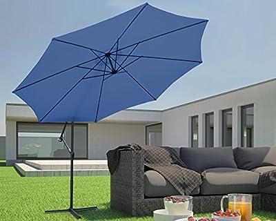 Miadomodo – Sombrilla de jardín de diámetro 3,5 m - Diferentes colores a elegir