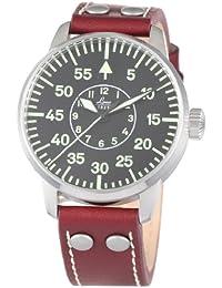 Laco Aachen 861690 - Reloj de caballero de cuarzo, correa de piel color marrón