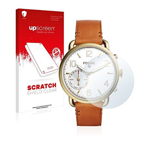 upscreen Scratch Shield Clear Displayschutz Schutzfolie für Fossil Q Tailor (hochtransparent, hoher Kratzschutz)