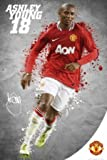 Manchester United Ashley Young Sports Maxi Poster Print - 61x91 cm