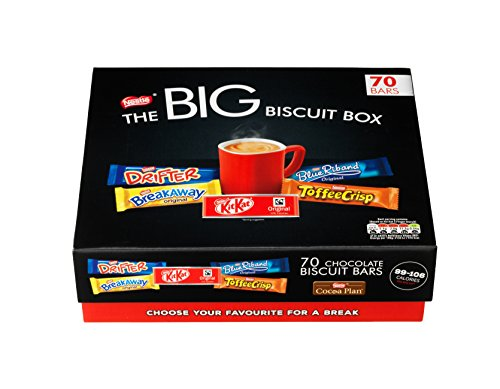 Nestlé The BIG Biscuit Box Chocolate Biscuit Bars
