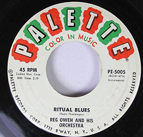 reg-owen-and-his-orchestra-45-rpm-ritual-blues-manhattan-spiritual