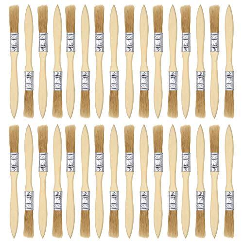 Pennelli Pennello trucioli vernice Perfetto per pittura murale pittura su legno vernice macchie colle e Gesso Pennello Monouso