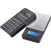 G & g tasca moneta bilancia di precisione digitale con custodia e calcolatrice (2in 1)