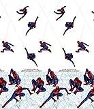 Gardine SPIDERMAN 1 Teil 179B x 210L Kinderzimmer Vorhang