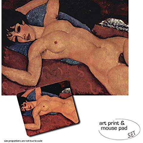 Set Regalo: 1 Stampa D'Arte (80x60 cm) + 1 Tappetino