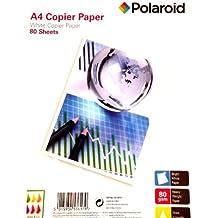 A4 Papel premium copiadora / impresora - Polaroid - 80 hojas de 80 gr Blanca