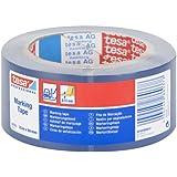 Tesa - Cinta adhesiva de señalización (50 x 33 mm), color azul