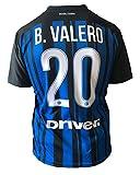"""MAGLIA Borja Valero INTER UFFICIALE 2017-18, REPLICA AUTORIZZATA DELL'ORIGINALE, LICENZIATARIO L'AZIENDA """"L.C.SPORT SRL"""""""