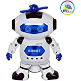 Smiles Creation Dancing Naughty Robot with Music and 3D Lights