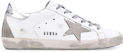 Golden Goose Luxury Fashion Donna GWF00102F00031710273 Bianco Pelle Sneakers | Autunno-Inverno 20