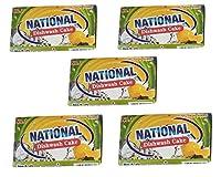 National Dishwash cake(combo pack of 5-170g each)