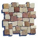 M-017 Marmormosaik Mosaikfliesen mediterran Bad Fliesen Lager Verkauf Stein-Mosaik Herne NRW