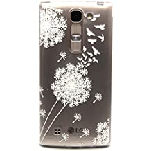 Voguecase® Para LG Magna/LG G4c ultra-slim fit TPU Funda de Silicona de Gel Carcasa Tapa Case Cover (Dayan/Diente de león) + Gratis aguja de la pantalla stylus universales