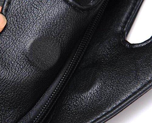 Borsa A Tracolla Tote Bag Da Donna Elegante Borsa A Tracolla Grande In Pelle PU Borsa A Mano Donna Borsa A Mano Borsa Da Donna Black