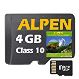 ?ALPEN Topo GPS Karte 10m Höhelinien 4GB microSD für Garmin Navi, PC und MAC ? Garmin GPSMap 62 64s 64st 78s 78s? ORIGINAL von STILTEC © -