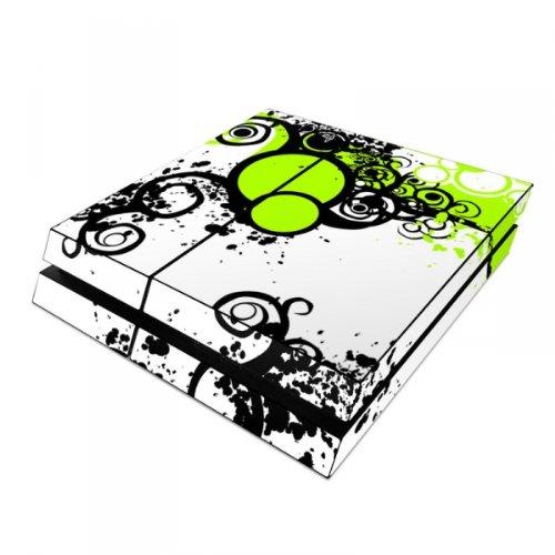 Skins4u Playstation 4 PS4 Skin Design Folie Sticker Set - Simply Green