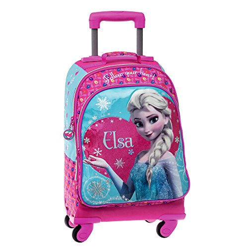 f61cbd3985 Disney 2213851 Zainetto per Bambini Elsa Frozen, Multicolore